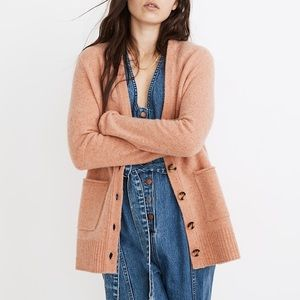 Madewell Wool Donegal Maysfield Cardigan Sweater S